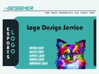 Home Page Template Design