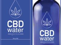 CBD Water packaging Design