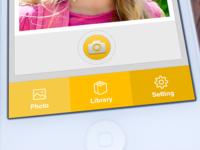 iPhone Camera UI