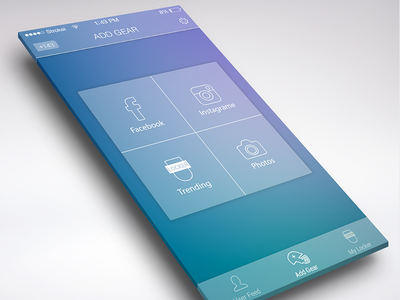 Sharing Screen UI icon ios icons app photoshop home apple clear sharing interface social