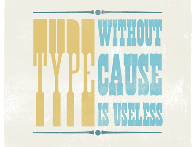 Type without cause