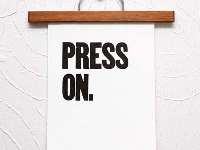 Press On print