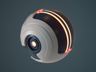Sci-Fi Ball octanerender octane