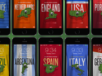 World Cup 2014 Smartphone Wallpapers