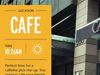 LOCATION – CAFE