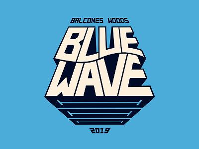 Moar Wave! procreate swim team branding