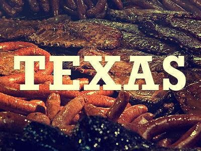 TEXAS state rockwell bbq the salt lick