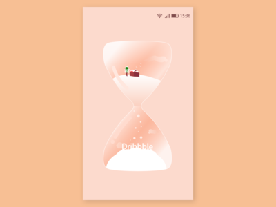 Hourglass—— launchimage