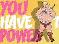 He-Man Anti Bullying Campaign