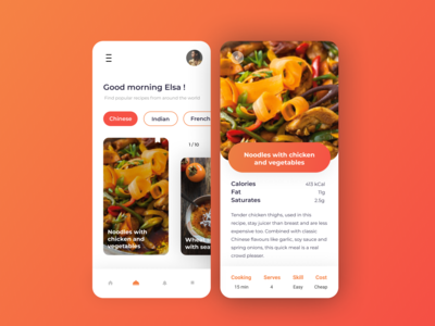 Food app iphone