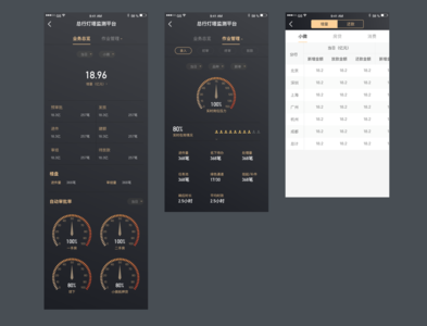 A project on finance branding app ux design ui