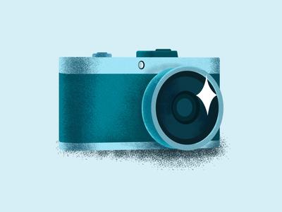 camera icon ui illustration