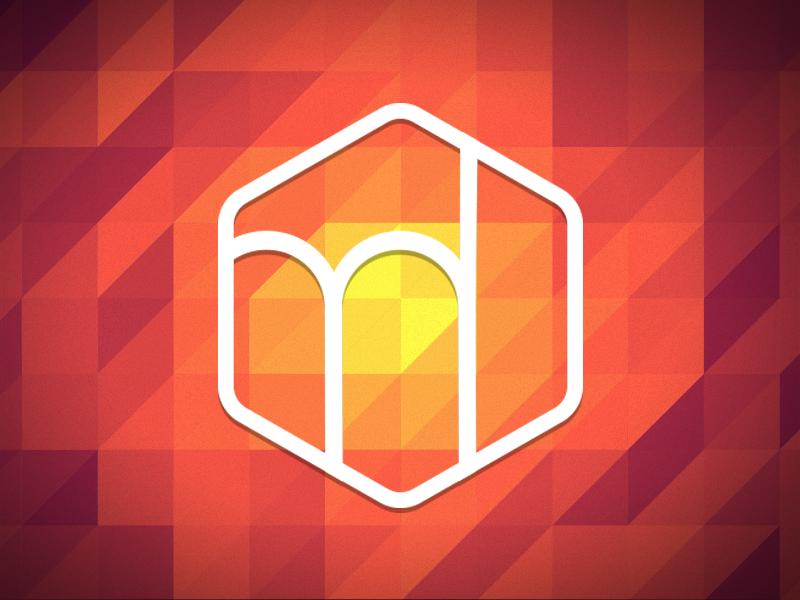 Personal Logo logo red flat hexagon identity vector illustrator icon colors brand fire nicolas fallourd