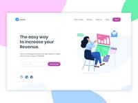 Header Illustration for marketing tools