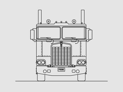 Kenworth K100 truck logistics autobots optimus prime transformers freight transportation semitruck kenworth