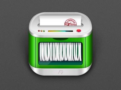 Shredder Icon