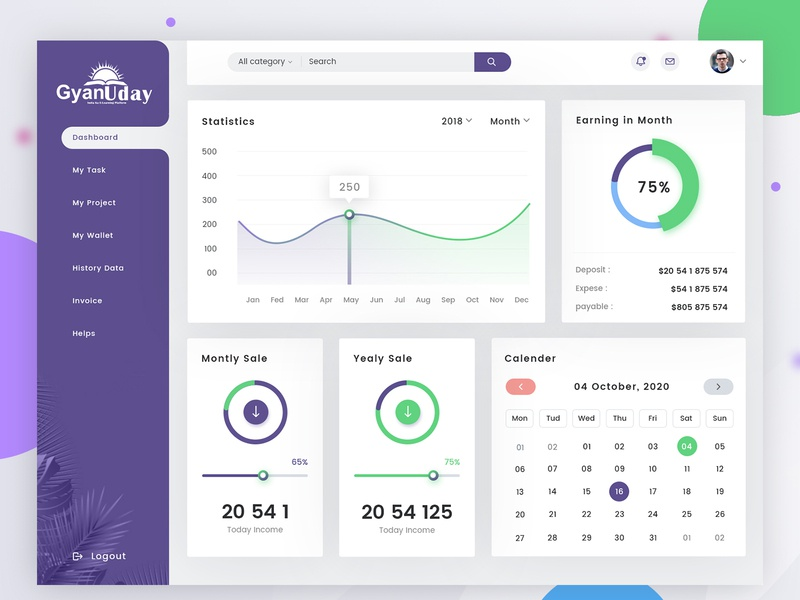 Admin Dashboard Panel PSD Template dashboard panel psd dashboard panel psd admin dashboard vector branding website ui free psd design