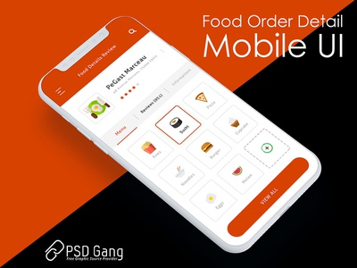Food Order Detail Page
