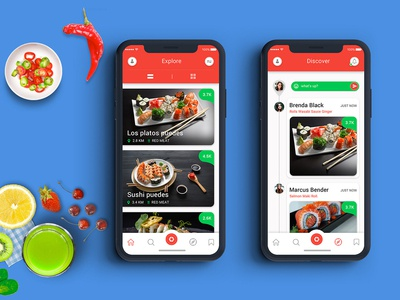 Food Review Restaurant App