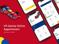 VR Game UI Kit for mobile app