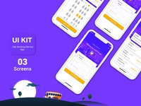 Online Bus Tickets Booking Mobile App UI