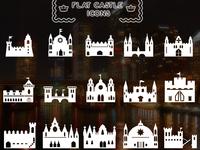 Flat 15 Castle Icons
