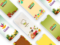 New Grocery App Splash Screen