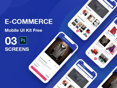Ecommerce mobile app design PSD login profile website logo ui booking app user profile free psd android app app design