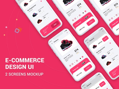 New design e-commerce app Ui PSD ios web profile logo ui booking app user profile free psd android app app design