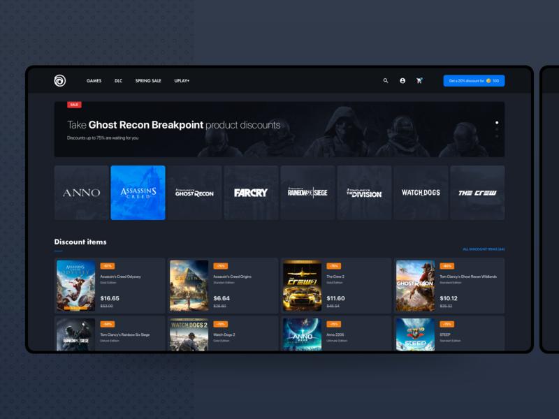 Ubisoft Store | Website