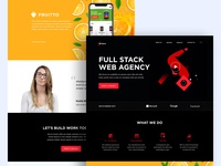 Landing page / Home Page
