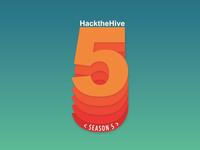 Hack the hive Season 5 sticker