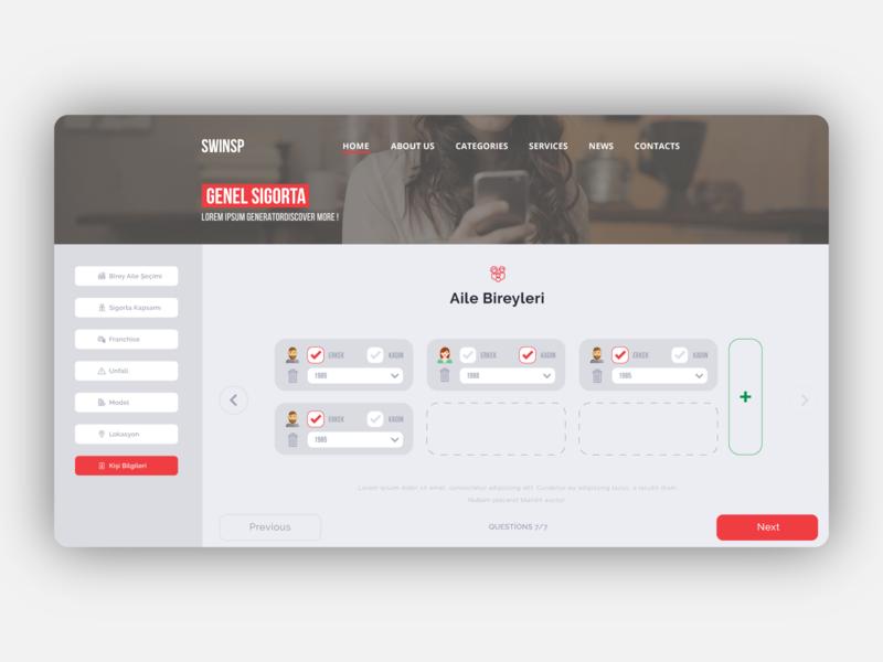 Insurance Company 2 dashboard design illustrator portal dashboard ui ux webdesign web interaction design ui design