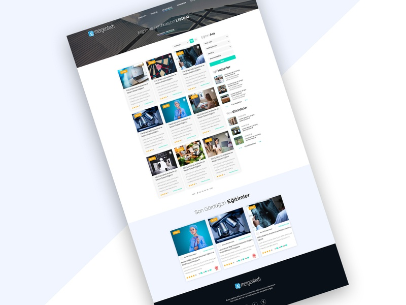 Education Portal Search Page web design portal branding education ux dashboard ui webdesign web interaction design ui design