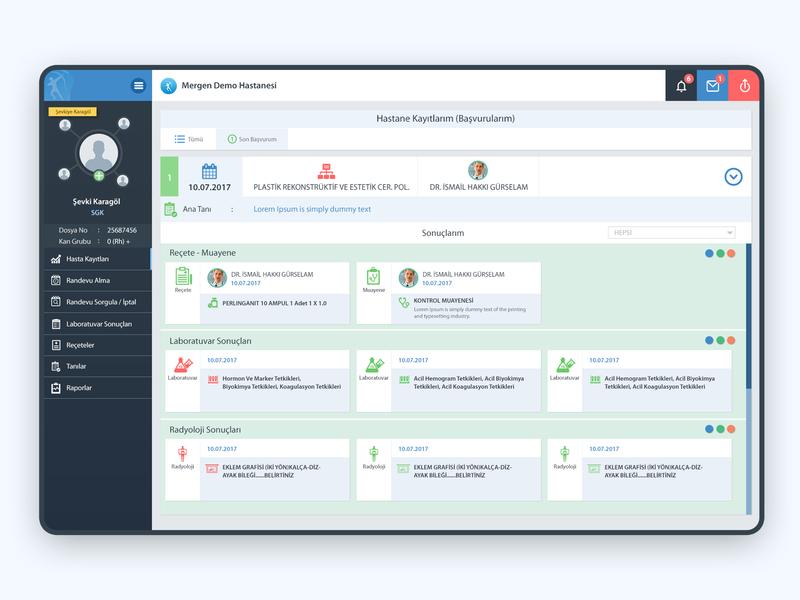 Patient Portal Web 3 user interface design web design branding portal dashboard design ux dashboard ui webdesign web interaction design ui design