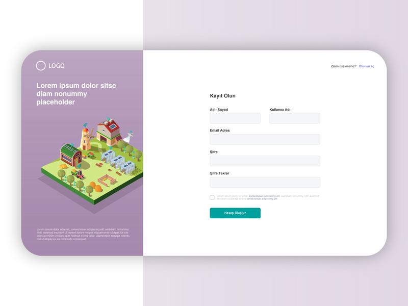 Sing up signup illustrator ux webdesign web interaction design ui design