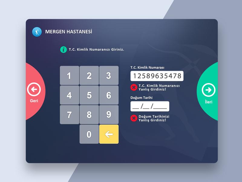 Hospital Kiosk Application 2 hospice kiosk ui design dashboard design illustrator dashboard ui ux webdesign web interaction design ui design