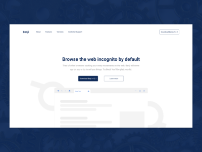 Benji -  Modern Web Browser