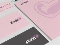 Allison Cosmetics Branding