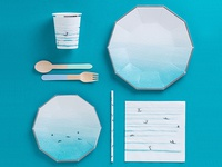 surf tableware