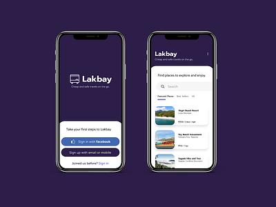 Lakbay - Mobile Application Design first shot mobile ui branding mobile design mobile app design mobile app mobile