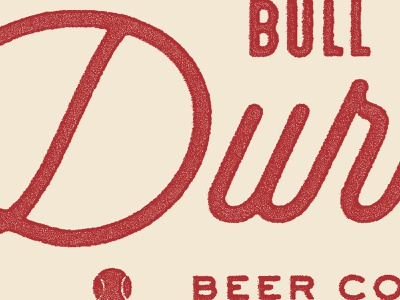 Baseball n' booze baseball beer logo typography branding