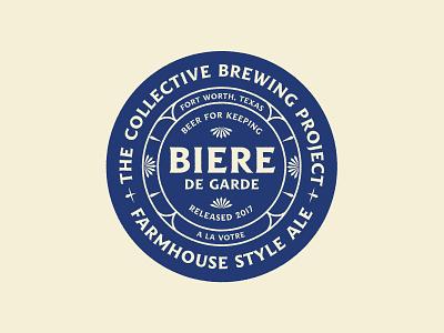 Garde de beer beer type logo seal