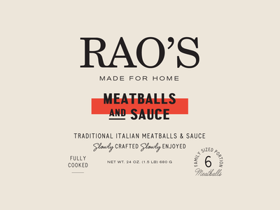 Lost in the meatballs n' sauce typography