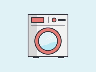 It's Laundry Day machine washing laundry