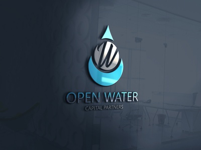 3d Glass Window Logo Mockup  2