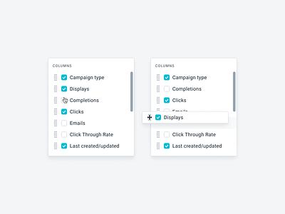 UI Components blue minimal white turquoise desktop styleguide webapp buttons inputs form calendar menu