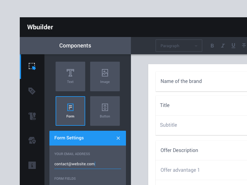 Wireframe Builder (WIP) by Vincent Tantardini | Dribbble ...