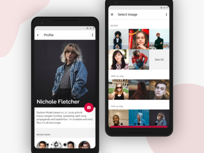 Photo upload UI design ux uidesign ui mobile app