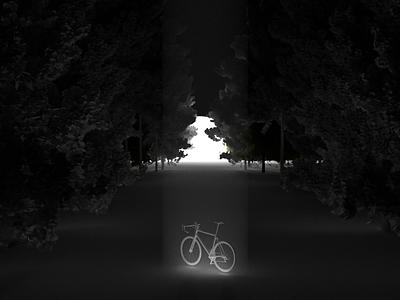 Bike render atmospheric blender design daily 3d art cyclesrender blender3d 3d